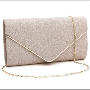 Envelope Clutch Purse Evening Handbag Wallet